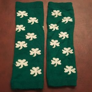 Other - Girls Shamrock Leg Warmers